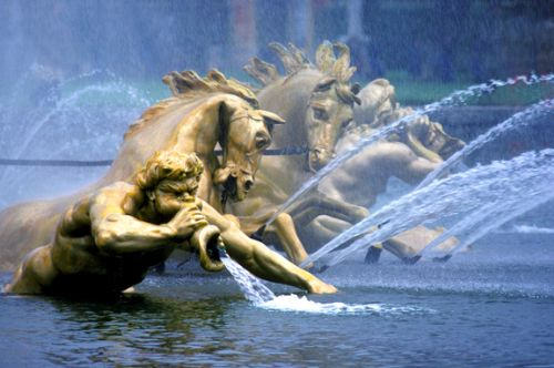 Click to view Versailles Fountains France